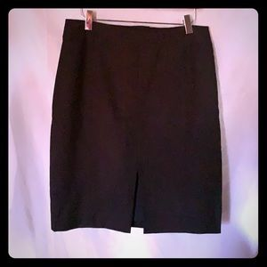H&M Navy Blue Skirt SIZE 10